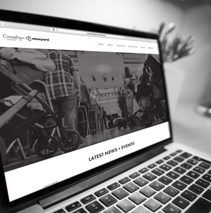 Carrickfergus Vineyard | Web Design